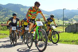 Andreas Seewald, MTB Marathon Oberammergau (Foto: Sportograf.de)