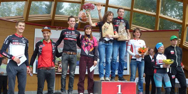 Siegerehrung Ritchey Challenge 2015 Oberstdorf (Foto: Jürgen Langhans)