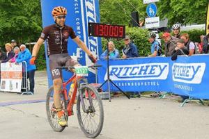 Daniel Gathof - Sieger Pfronten Marathon 2016 (Foto: Sportograf.de)