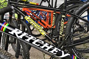Ritchey Testbike-Flotte