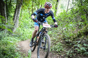 Franken Bike Marathon, Sieger 2019 Benedikt Diepold (Foto: sportograf.de)