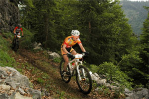 Birgit Söllner – Siegerin SportScheck MountainBIKE Festival Tegernseer Tal 2012 (Foto: Sportograf.de)