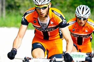 Matthias Bettinger und Andreas Strobel (Foto: sportograf.de)