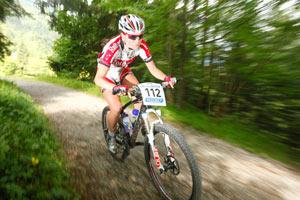 Bianca Purath Ammergauer Alpen Bike Cup (Foto: Sportograf.de)