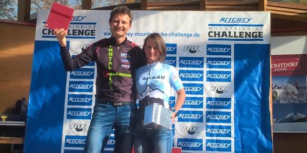 Birgitt Hühnlein und Andi Plank Gesamtsieger der Challenge 2017