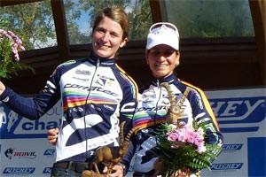 Stefanie Hadraschek und Barbara Kaltenhauser - Gesamtsieger Ritchey Challenge 2011